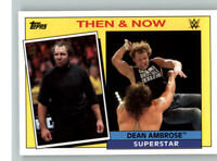 2015 Topps WWE Heritage Then and Now #10 Dean Ambrose