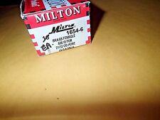 """Milton Industries 1654-6, 1"""" X .656 I.d. Brass Hole Ferrule (16546)Pack of 8"""