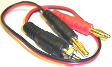 RC Glow Starter Start Charging Cable Banana Connectors