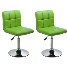 chaises de salle à manger cuisine Ensemble deux - Bari - Vert