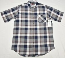 $50 NWT Mens Ecko Unltd Button Down Shirt Plaid Oxford Woven Size LT L Tall N517