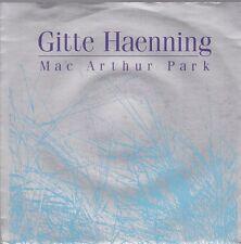 """7"""" Gitte Haenning Mac Arthur Park (Deutsche und Englische Version) 80`s BMG"""