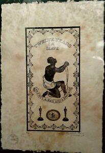 'Twelve Years A Slave' Artist Proof (AP.) Print 22'x 15'x Signed Fairchild Paris