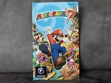 Notice Mode D'emploi Mario Party 7 pour Nintendo Gamecube (pas de jeu)