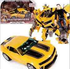Hot ROTF Human Alliance Bumblebee Figure and Sam with Box