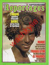 Grands reportages 23 1982 île Maurice Maroc Ethiopie Puszta Charlebois