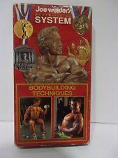 Basic Bodybuilding Techniques 1992 VHS
