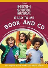 Disney High School Musical 1 Read to Me Book & CD Zac Efron original movie voice