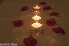 100 x ivoire et violet Pétale de rose en soie Décoration table Mariage Confetti