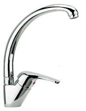 miscelatore rubinetto monocomando per lavello cucina canna alta cromato offerta