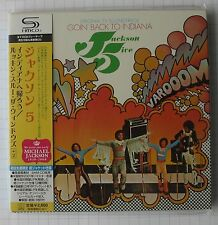 JACKSON 5 - Goin Back To Indiana & Lookin Through JAPAN SHM MINI LP CD OBI NEU