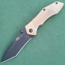 SANRENMU LA4-730T Tanto Camping Fishing Pocket Folding EDC Knife old version