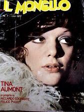 Il Monello 7 1977 - Tina Aumont - Felice Pulici - Riccardo Cocciante [G.144]