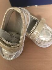SPERRY TOP SIDER STRIDE RITE Size 1 1-3 mo Animal Print  Strap ADORABLE Loafer