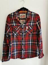Ladies Superdry Classic Check Shirt XL