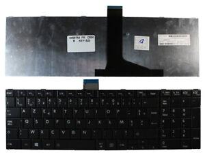Toshiba Satellite C850 Black Windows 8 French Layout Replacement Laptop Keyboard