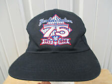 VINTAGE FOOTLOCKER X ADIDAS NEW YORK YANKEES STADIUM 75th ANNIV SNAPBACK HAT CAP