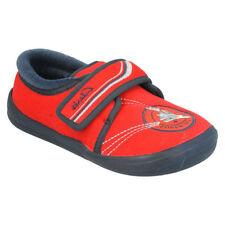 Pantoufles rouges pour garçon de 2 à 16 ans