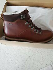 Clarks Batcombe Alp GTX Boots Men's UK Size 7 Brown  Leather NEW Gore-Tex