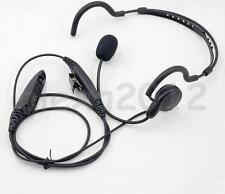 New PTT MIC Earpiece Headset for Motorola radio GP328 GP338 HT750 HT1250  MTX900
