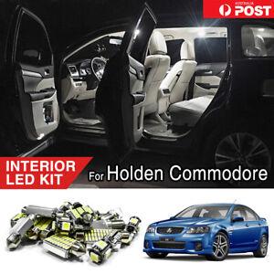For Holden Commodore VE VF Xenon Interior LED Light Kit Dome Reading Bulbs White