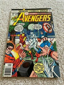 Avengers  170  VF/NM  9.0  High Grade  Iron Man  Captain America  Thor  Vision