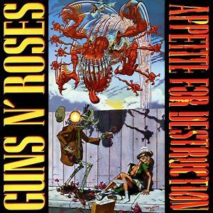 GUNS N ROSES Appetite For Destruction ALTERNATE BANNER HUGE 4X4 Ft Fabric Poster