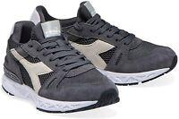 DIADORA TITAN REBORN Sneakers DARK GULL GREY US 10.5 BNIB New Retro