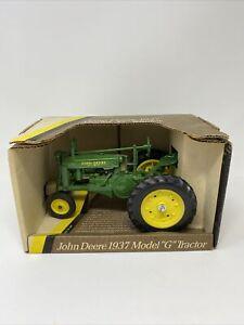 NIB John Deere 1937 model G tractor 1:16 by Ertl #548 Blueprint Replica Toys
