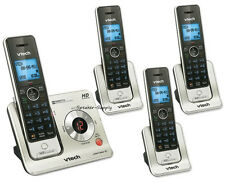 Vtech DECT 4 Cordless Handset Answering System Talking ID HD LS6425-3  LS6405