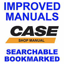 Case MX100, MX110, MX120, MX135 Tractor FACTORY Repair Service Manual Faster CD