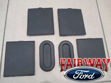 15 thru 20 F-150 OEM Ford Bed Access Hole Liner Plug Cleat Cover Kit 6-Piece Set
