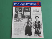 1986 Redlegs Review Norwood Football Club  Hein Tuohy Ross Stewart Balme