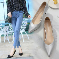Womens Cozy Sexy Stiletto Pointed High Heels Casual  Faux Leather Pumps Shoes