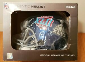 NEW YORK GIANTS NFL Riddell Pro Line Size L AUTHENTIC Helmet Signed Eli Manning
