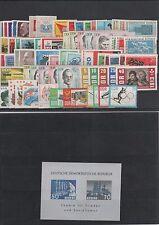 DDR Germany Yearset Jahrgang 1963 postfrisch ** MNH komplett  weitere sh. Shop