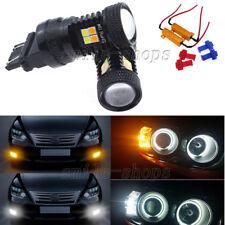 Switchback Turn Signal Lights + Side Marker LED Bulbs For 1997-2004 Corvette C5