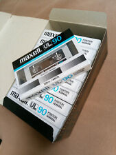 MAXELL UL-90 Japan cassette  tapes  new!