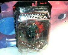 "Battlestar Galactica Chief Tyrol 7"" Action Figure (Diamond Select, Signed! New)"