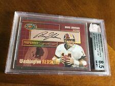 2000 Don Russ Preferred Signature 8.5 Brad Johnson Football Card