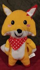 2013 Namco Gold & Red Rocket Fox Plush