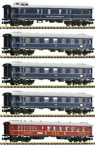 Fleischmann N 863004-S Fernschnellzug-Wagenset der DB 5-teilig - NEU + OVP