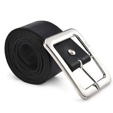 Men Women's Fashion Leather Belt Pin Belts Waistband Buckle Waist Strap Casual