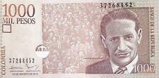 COLOMBIA,2015.1000 PESOS.P-456.UNC BANKNOTES.(R)