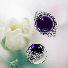 AMETHYST LILA 00574 SWEET DELUXE STRETCHRING RINGE LEONIE SILBER