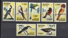 BIRDS 1989 Nicaragua #1172-1178 Complete Set of 7 $2.50 Retail Value