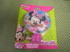 New ! Disney Minnie Night Light for Hallway Bedroom & Kitchen
