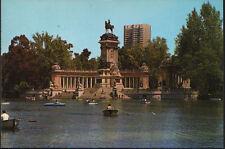 ANTIGUA POSTAL DE MADRID . PARQUE DEL RETIRO . ESTANQUE. MAS EN MI TIENDA CC1553
