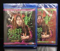 Sheets of Gore Vol 1 & 2 NEW Blu-ray Lot SOV Horror Zombie Bloodbath LTD TO 100