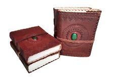 Leather Journal Diary Notebook Handmade Blank Travel Notepad Lot of 4